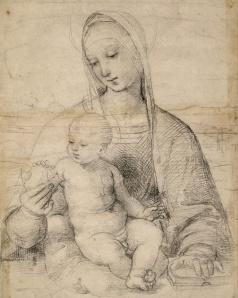 Albertina, Vienna Madonna of the Pomegranate, c. 1504 c. 1504Details Raphael