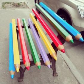 bancs couleur